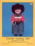 Cowboy Dirk, by Td creations, inc. for 13 inch doll