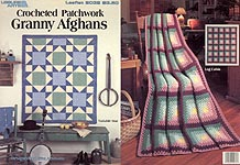 LA Crocheted Patchwork Granny Afghans