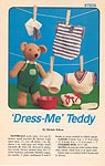 Annie's Attic Dress-Me Teddy