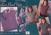 LA Lace Panel Vests to Crochet