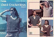 LA Quick Crochet Vests, Book 2