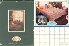 Annie's Attic 1990 Antique Crochet Calendar