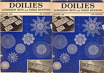 Spool Cotton Co. Book 118: Doilies, Luncheon Sets, and Table Runners