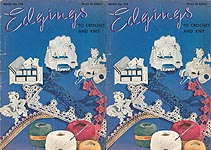 Coats & Clark's Book No. 149: Edgings To Crochet and Knit
