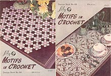 Lily Crochet Design Book No. 68: Motifs in Crochet