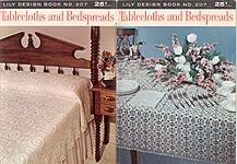 Lily Crochet Design Book No. 207: Tablecloths and Bedspreads