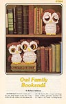 Owl Family Bookends