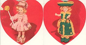 Sweetheart Dolls: The Majorette and The Ranch Girl