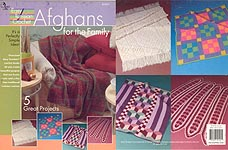 Annie's Attic Easy Tunisian Crochet Afghans For the Family