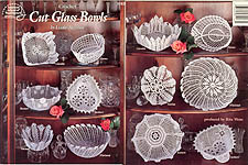 ASN Crochet Cut Glass Bowls