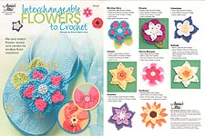 Annie's Attic Interchangeable Flowers to Crochet