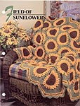 Annie's Crochet Quilt & Afghan Club, Field of Sunflowers