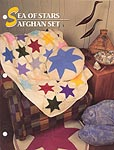 Annie's Crochet Quilt and Afghan Club Sea of Stars Afghan Set