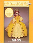 Queen of Gold outfit for 15 inch fashon craft doll.