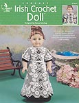 Annies Attic Irish Crochet Doll dress for 18 in doll.