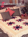 Annie's Crochet Quilt & Afghan Club, Eight-Pointed Star