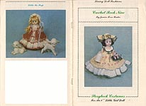 "Janice Rose Rader Storybook Costumes for an 8"" Little Girl Doll"