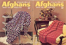 Coats & Clark Book No. 203: Afghans (Crochet - Knit - Afghan Stitch)