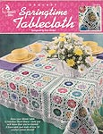 Annie's Attic Crochet Springtime Tablecloth