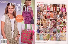 Crochet! Magazine Presents Easy, No- Sew Crochet
