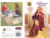 Lion Brand Easy Homespun Throws
