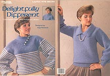 LA Delightfully Different Crocheted Tops with Fashion Collars