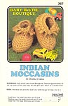 Annie's Attic Baby Bootie Boutique: Indian Moccasins