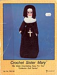 Sister Mary - Crocheted 15 inch Bride Doll by Td creations