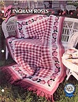 Annie's Crochet Quilt & Afghan Club, Gingham Roses