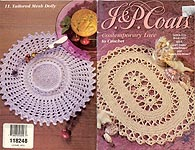 J & P Coats Book 1432: Contemporary Lace to Crochet