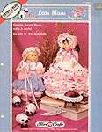 Little Misses Nursery Rhymes: Bo Peep and Miss Muffet for 13 inch craft dolls