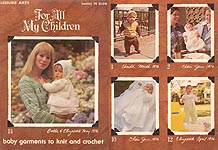 LA For All My Children: Baby Garments to Knit and Crochet