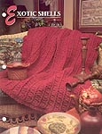 Annie's Crochet Quilt & Afghan Club, Exotic Shells