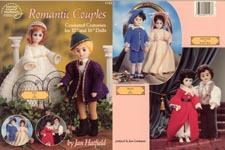 Romantic Couples: Romeo & Juliet, Blue Boy & Pinkie, Southern Belle & Beau for 15 inch craft dolls.