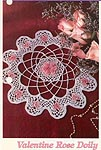 TNS Crochet Collector's Series: Valentine Rose Doily