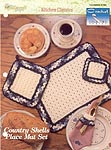 TNS Crochet Collector's Series: Country Shells Place Mat Set
