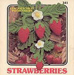Annie's Attic Luscious Fruit Potholders: Strawberries