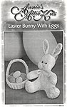 Annie's Attic Crochet Easter Bunny With Eggs