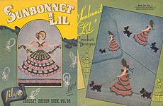 Lily Crochet Design Book No. 56: Sunbonnet Lil