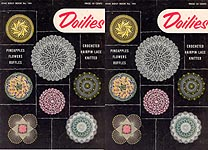 Star Doily Book No. 104: Doilies -- Crocheted, Hairpin Lace, Knitted