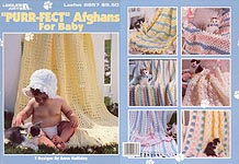 "LA ""Purr-fect"" Afghans for Baby"