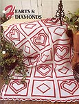 Annie's Quilt & Afghan Club Hearts & Diamonds