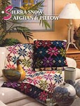 Annie's Crochet Quilt & Afghan Club, Sierra Snow Afghan & Pillow