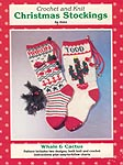 JAO Ent. Crochet and Knit Christmas Stockings: Whale & Cactus