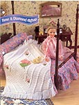 Annies Fashion Doll Crochet Club: Rose & Diamond Afghan