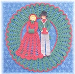 BellaCrochet God Rest Ye Merry Gentlemen Doily