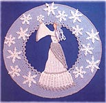 BellaCrochet Snow Queen Doily