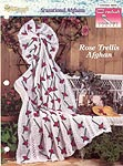 The Needlecraft Shop Crochet Collector Series: Rose Trellis Afghan