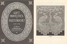 HWB Gift Novelties in Filet Crochet, Book No. 5