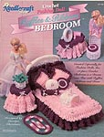 TNS Crochet Fashion Doll Ruffles & Ribbons Bedroom